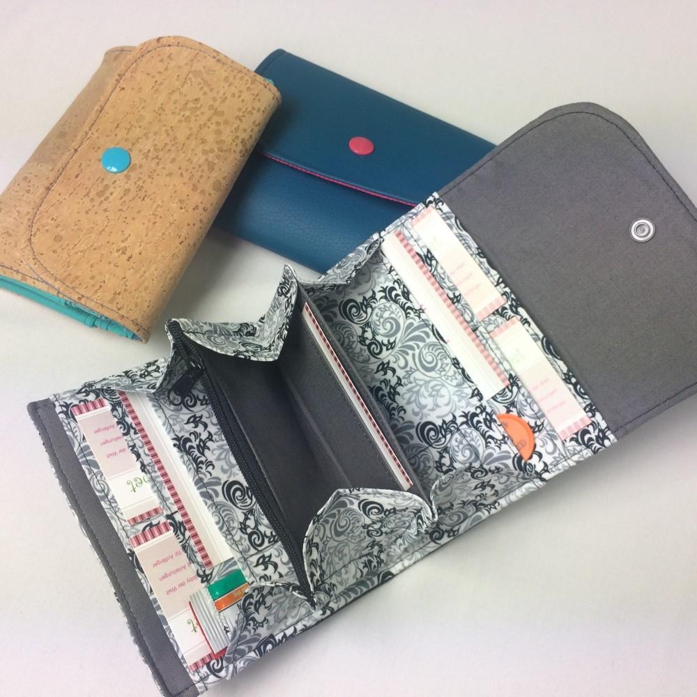 Portemonnaie selber nähen schnittmuster kostenlos